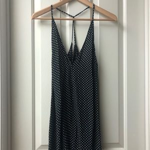 Reformation Polka Dot Slip Dress